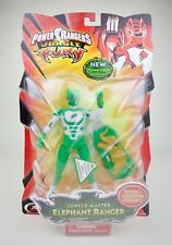 "Power Rangers Jungle Fury 5"" Green Jungle Master Elephant Ranger Bandai NEW 2008"