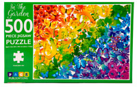 500 Pieces Jigsaw Puzzle IN THE GARDEN Educational Learning Game Kids Adult