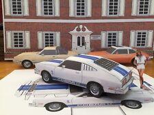 "Papercraft Charlies Angels T.V. show Ford Mustang II Cobra ""PAPER"" Car EZU-make"