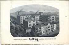 "CP Belgique - Marcinelle - Fabrique de Pianos ""De Heug"""