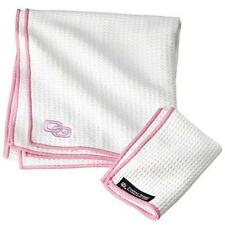 CLUB Glove TANDEM CADDY ASCIUGAMANO-BIANCO / ROSA BORDO