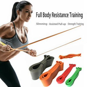 Yoga Fitness Tension Belt Training Rubber Gym Latex Stretcher Resistance Belt