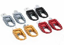CNC Racing Billet Aluminium 'Easy' Footpegs, Ducati Multistrada 1200, PEP02T