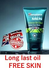 Himalaya Herbals Men's Intense Oil Clear Lemon Face wash 100ml - white Facewash