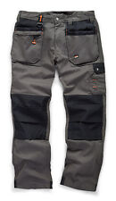 Scruffs WORKER PLUS Work Trousers Graphite Grey (All Sizes) Men's Trade Workwear