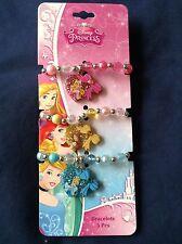3 Piece Disney Princess Bracelets Set