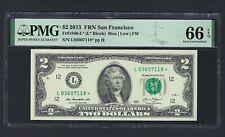 United State - Federal Reserve Note 2 Dollars 2013  Fr1940-L (L* Block) Grade 66