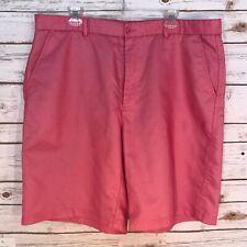 Pebble Beach Performance Shorts Men's Size 40 Pink Golf Dress Shorts