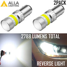 Alla Lighting 1156 72-LED Super Bright White Backup Reverse Light Bulb|3rd Brake