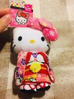 Hello Kitty Sanrio Kimono Plush Doll rare Pink cute kawaii Japan Limited new F/S