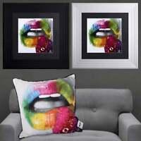 Patrice Murciano FRUITY KISS 2 Framed Artwork 55cm x 55cm