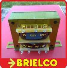 TRANSFORMADOR DE ALIMENTACION 220V AC A 2X18V 1A 36V 0.6A CHASIS ABIERTO BD8343