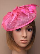 Grande Rose Bandeau Serre-tête mini chapeau bibi / chapeau pour mariages