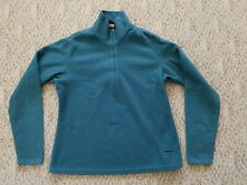 2825ae3bd0 EUC PATAGONIA WOMEN'S EXPEDITION WEIGHT CAPILENE FLEECE SHIRT COLOR GREEN  SMALL
