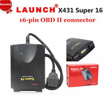 Original Launch X431 Super 16 Diagnostic Connector 16-pin OBDII OBD2 Connectors