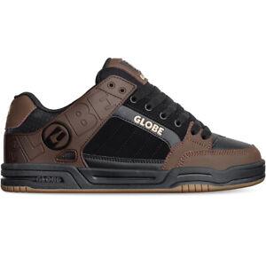 Globe Skateboard Shoes Tilt Black/Brown Mens