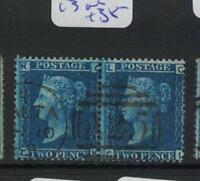 Malta GB Used Abroad SG Z34 Plate 13 Pair VFU (4drs)