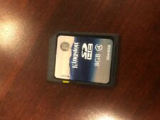 5 OEM Genuine Kingston 8GB SDHC Memory Card- Class 4 - SD4/8GB Packed in SD CARD