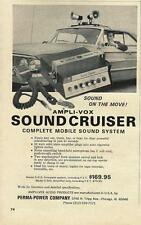 1964 Ford Ampli-Vox Soundcruiser Public Address PA System Ad