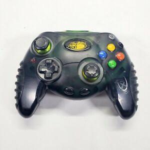 Original Xbox Mad Catz Wireless 2.4Ghz GREEN Controller No Receiver/Dongle