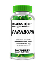 Blackstone Labs PARABURN / Burn Fat / Increase Energy / Focus / 60 Caps / NEW!