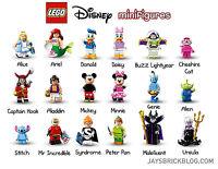 LEGO - Minifigures Serie 71012 Disney - Completa la Collezione - NUOVO #NSF3