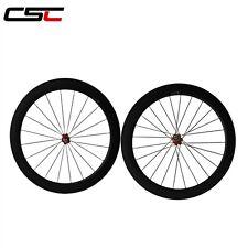 60mm clincher carbon road bike wheels bicycle wheelset Basalt braking surface