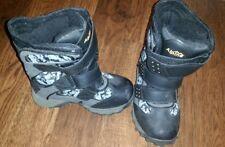 BOYS BOOTS: ALPINE SIZE 13 camouflage grey, Velcro