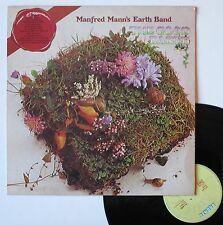 """Vinyle 33T Manfred Mann's Earth Band  """"The good earth"""""""