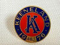 Vintage 1976 Keeneland Club Member Lapel Pin Horse Racing Breeders Cup #487 Rare
