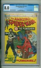 Amazing Spider-Man #129 CGC 8.0 Origin & 1st App Of The Punisher 1974