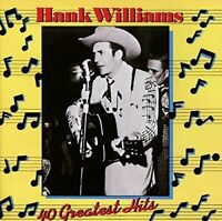 Hank Williams - 40 Greatest Hits [CD]