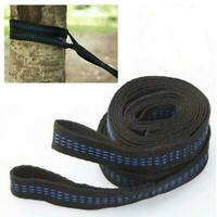 2x Tree Hanging Hammock Straps Climbing Rope Aerial Stretch Yoga Extend Bel T4M4