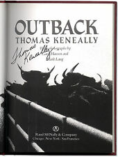 Outback - Signed by Thomas Keneally - First Edition Hardcover - Australia Travel