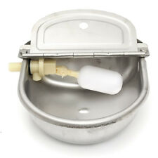 1 Pc Auto Water Trough Stainless Bowl For Horse Dog Cow Sheep Goat Chicken Drink