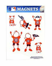 Washington Nationals Family Magnet Set (NEW) Auto Car Stickers Emblems 6 Pack