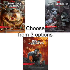 D&D 5th VOLO'S GUIDE MONSTERS or XANATHAR'S EVERYTHING or TALES YAWNING PORTAL