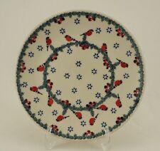 Bunzlauer Keramik Teller, Essteller, Kuchenteller, Frühstück, ø 22cm (T134-GILE)
