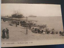 1900's PORT SAID EGYPT ALEXANDRIA 12 OLD PIECES S. LEVY & Cie SUEZ CANAL