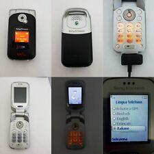 CELLULARE SONY ERICSSON W300i GSM UNLOCKED SIM FREE DEBLOQUE W300
