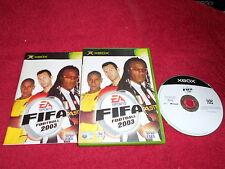 FIFA football 2003 microsoft xbox pal 3 +