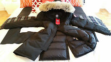 2018 CUSTOM ORDER 3XL LATEST CONCEPT BLACK CANADA GOOSE KENSINGTON PARKA JACKET