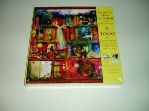 Aimee Stewart SunsOut Jigsaw Puzzle Treasure Hunt Bookshelf NIB