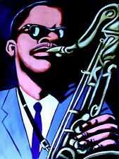 STANLEY TURRENTINE PRINT poster jazz saxophone sax blue note straight ahead cd