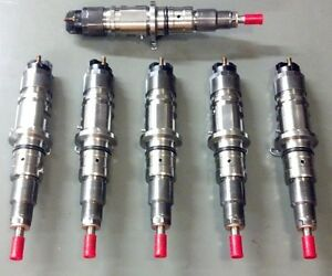 NJD Reman Injector set of 6 Fits: 2013-2016 Dodge Cummins 6.7 Ram Truck