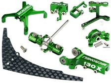 Microheli CNC Blade 130 X Tail Performance package (GREEN) - BLADE 130X