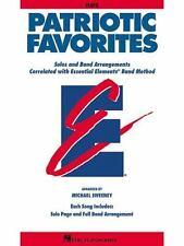 Patriotic Favorites - Flute (2002, Paperback)  Band Method Book