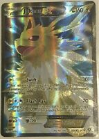 FULL ART Jolteon EX ULTRA RARE 28a/83 Pokemon Generations Eevee Eeveelution - LP