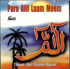 POUR ALIF LAAM MEEM - QARI GHULAM RASOOL - NEUF ISLAMIQUE CD