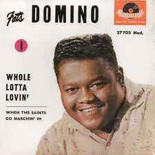 ★☆★ CD Single Fats DOMINO Whole Lotta Lovin' - EP 4-track CARD SLEEVE  NEW ★☆★
